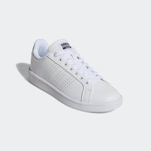"Adidas Women's 7 Cloudfoam Advantage ""Clean White"""